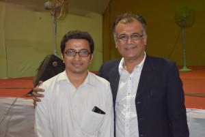 With Sh. Krishnakant Unadkat